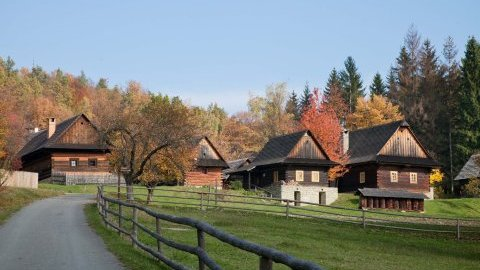 Valašské muzeum v přírodě v Rožnově p. R.