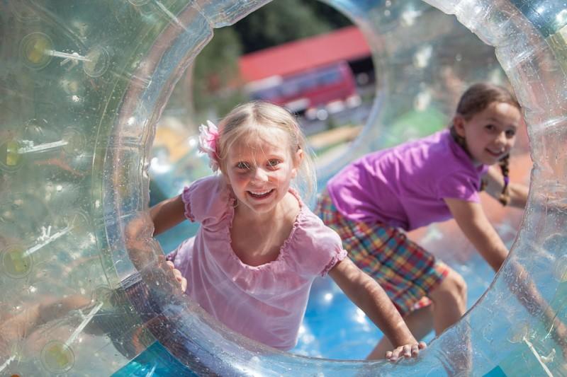 Dětský park na Bílé zahájil o víkendu letní provoz