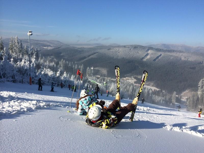 V Beskydech mrzne, bude se už brzo lyžovat?
