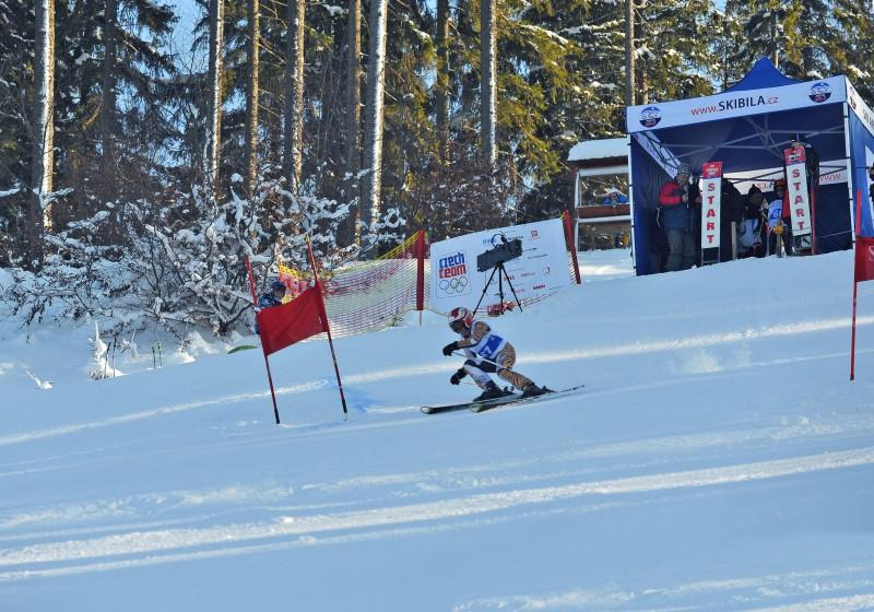 Poměřte síly s ostatními lyžaři