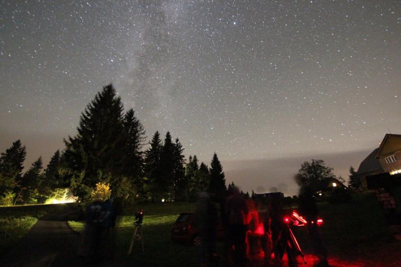 Astronomický den v Beskydech