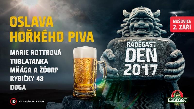 Oslava správně hořkého piva Radegast se blíží