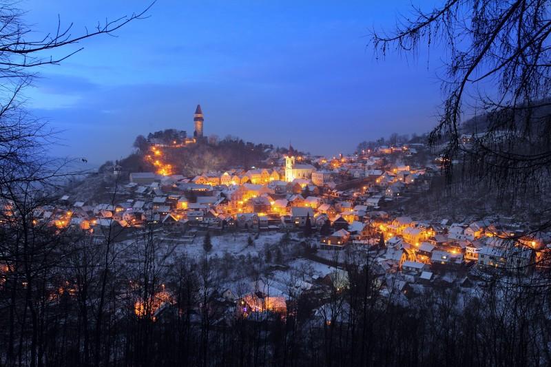 Ve Štramberku jste mohli obdivovat krásu Vánoc a zimní přírody