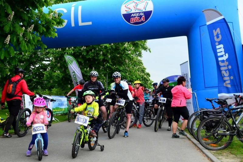 Start akce Frýdek-Místek na kole