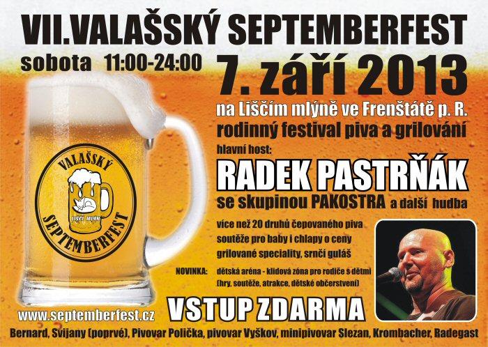 Navštivte VII. Valašský Septemberfest 2013!