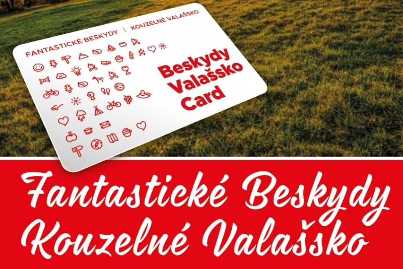 Beskydy Valašsko Card plná zážitků a výhod