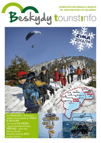 Zimní číslo novin Beskydy tourist info je tady!