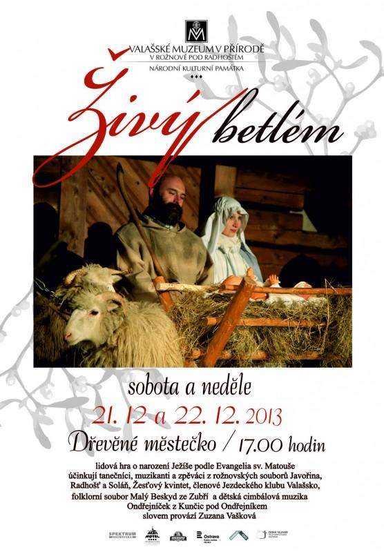 Živé betlémy mají v Beskydech tradici
