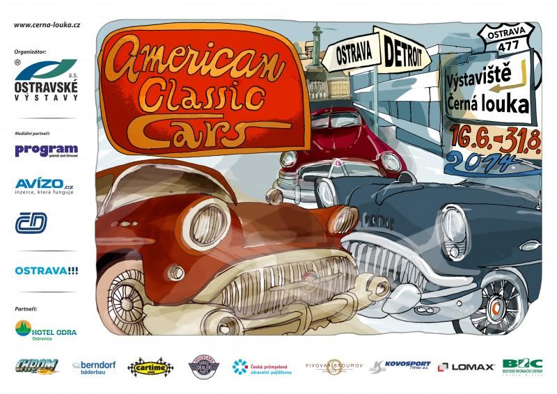 American Classic Cars zavítají opět do Ostravy