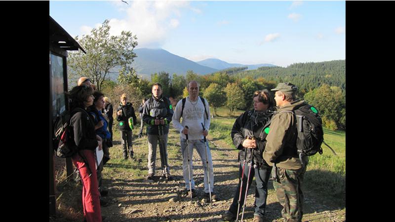 Letos v létě se zájemci pětkrát vydají na pěší výstup na Lysou horu s průvodcem