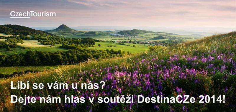 Soutěž DestinaCZe 2014