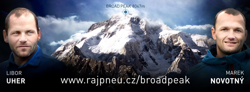 Horolezec Libor Uher usiluje o vrchol další osmitisícovky