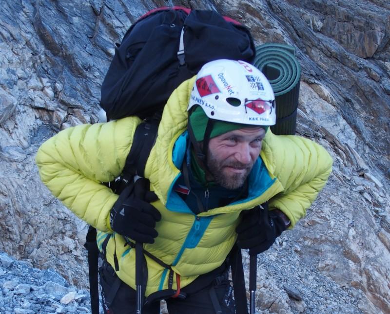 Libor Uher v pátek vystoupil na vrchol Broad Peaku