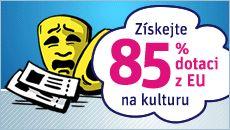 Získejte 85% dotaci z EU na vstupenky a předplatné