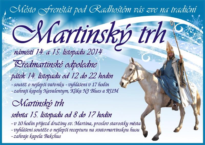 Martinský trh 2014