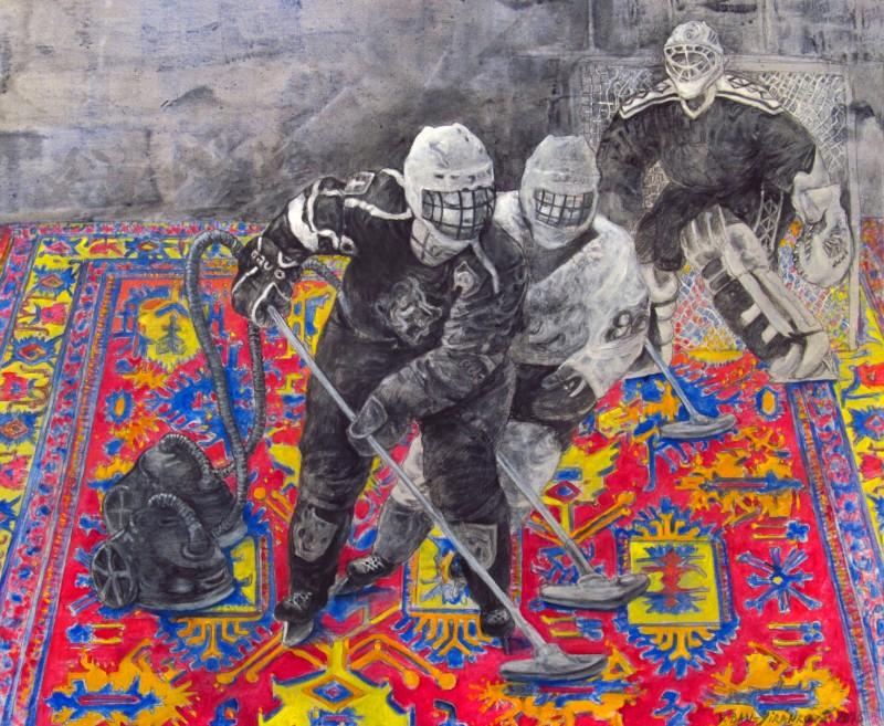 Výstava inspirována Mistrovstvím světa IIHF v ledním hokeji 2015