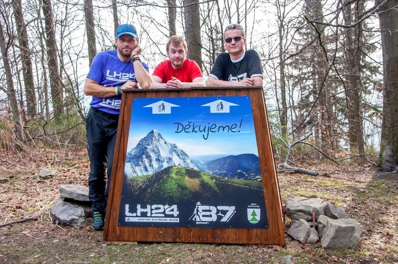 Pořadatelé eXtrémních závodů B7 a LH24 drží patronát nad odpočívadlem na Lukšinci