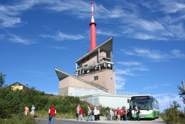 autobus na Lysou horu