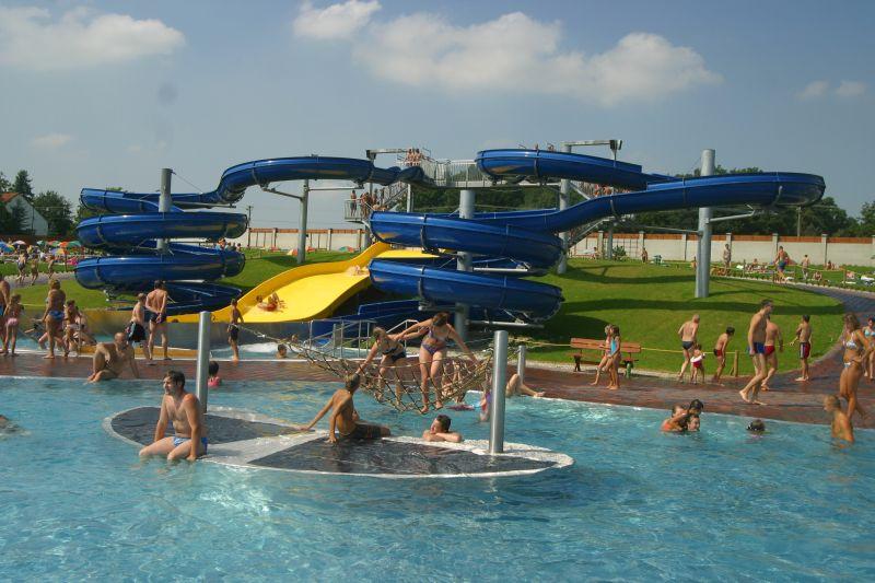 Letní aquapark Olešná otevře již brzy své brány