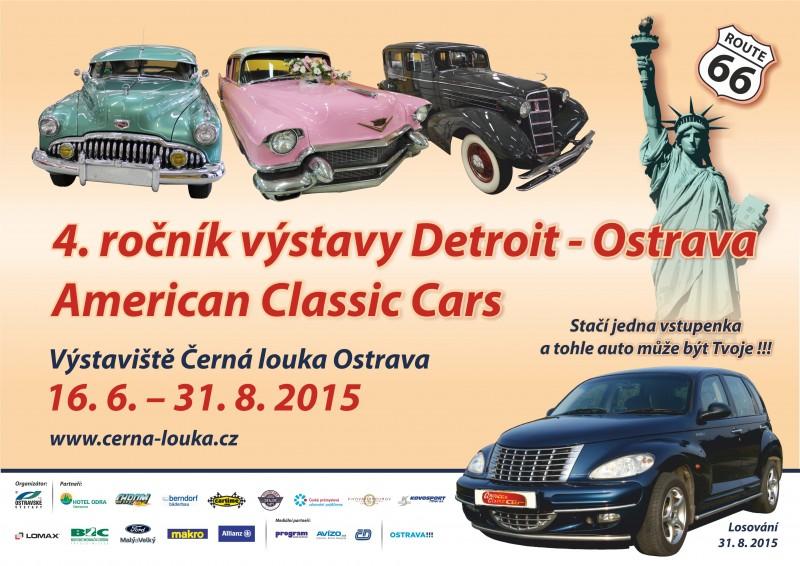 Výstava American Classic Cars opět v Ostravě