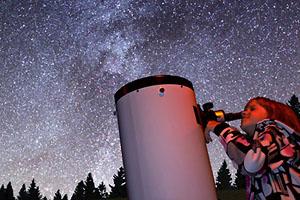 Centrum tmavé oblohy v Beskydech nabízí netradiční podívanou
