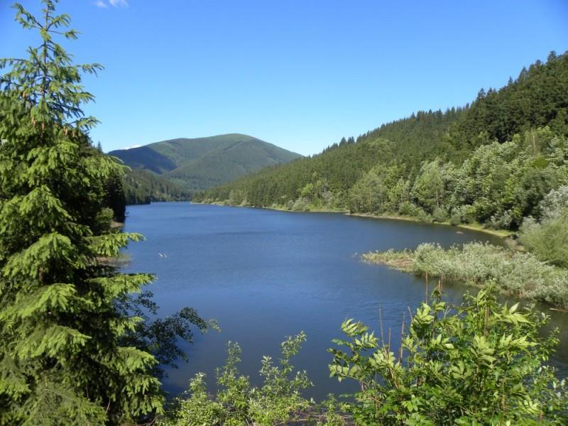 Pozor! Hráz přehrady Šance je veřejnosti uzavřena