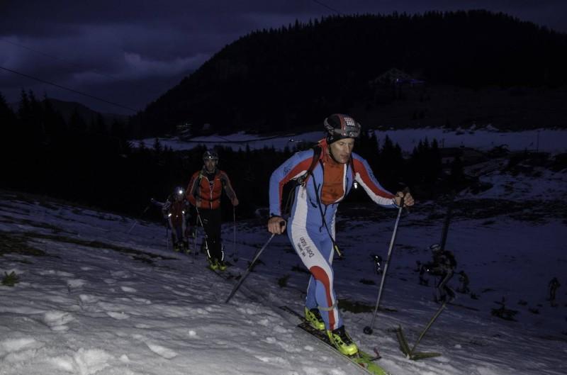 Noční skialpový hobby závod 2016