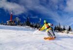 V Beskydech se ještě na pár místech lyžuje