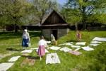 Jaro na dědině ve Valašském muzeu v přírodě