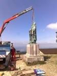 Ve Frenštátě slavnostně otevřou tajemnou schránku z podstavce sousoší sv. Cyrila a Metoděje na památném Radhošti