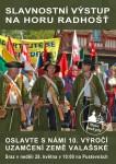 Před 10 lety uzamknuli Valaši zemi na 100 let a 28. května to pořádně oslaví
