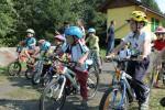 Naučte jezdit děti správně na kole!