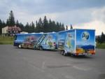 Cyklobusy opět brázdí turistickou oblastí Beskydy-Valašsko