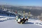 V Bílé se už lyžuje!