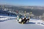 Kde se právě v Beskydech lyžuje?