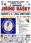 II. Ročník Memoriálu Jiřího Rašky - FIS CUP - 30.8. a 31.8.2013