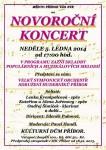 Zveme na novoroční koncert do Příbora
