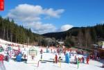 Ski areál Bílá v provozu