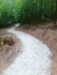 Na Horečkách přibyly další úseky zpevněných tras