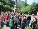 Netradiční výlet obohatil děti o poznání historie Beskyd