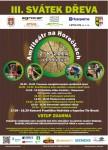 III. ročník Svátku dřeva opět nabídne soutěž dřevorubeckých týmů, unikátní exhibici a bohatý doprovodný program