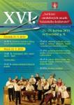 XVI. Setkání cimbálových muzik Valašského království