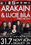 Arakain a Lucie Bílá navážou na úspěšné jarní tour a vyrazí na festivaly