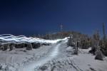 Magická Lysá hora je Mekkou příznivců skialpového lyžování