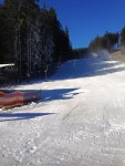 Bílá v Beskydech, připraveno, lyžuje se! Od 13:00 hodin se lyžuje na sjezdovce JIH