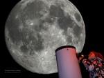 Měsíc hvězdářským dalekohledem v Beskydech!
