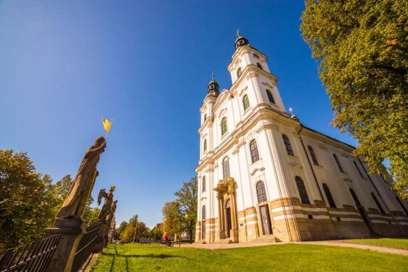 The Pilgrimage Church of the Visitation of the Virgin Mary in Frýdek