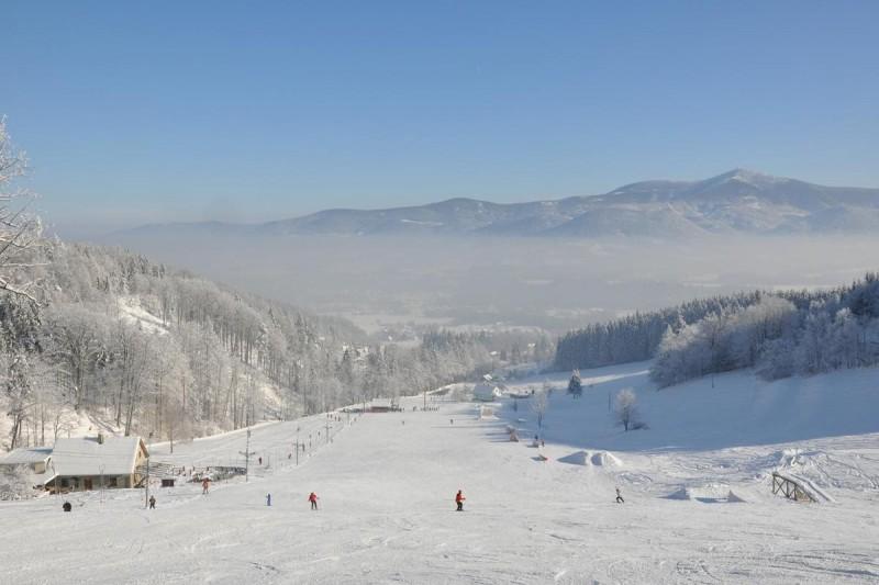Opálená - Pstruží ski area