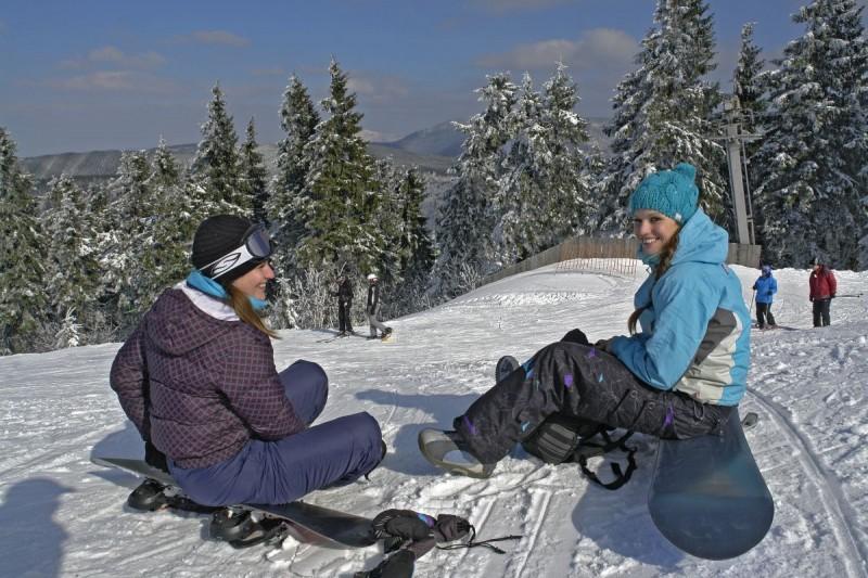 Lyžařská škola při SkiPark Gruň