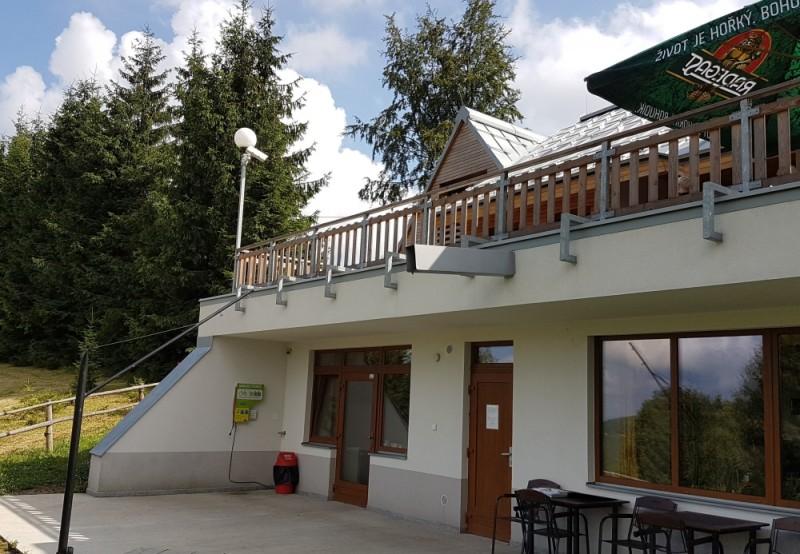 Nabíjecí stanice elektrokol - Masarykova chata na Bílé